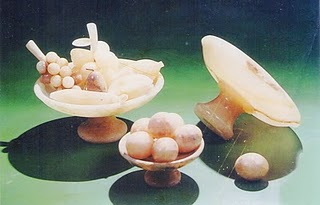 tempat buah dan buah